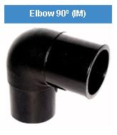 Elbow - Siku 90 derajat - HDPE - PE 100