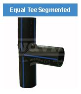 Equal Tee Segmented HDPE