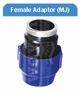 FEMALE ADAPTOR MECHANICAL JOINT HDPE