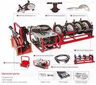 Mesin Penyambung Butt Fusion HDPE - SHD 160 - 250 Hidrolis