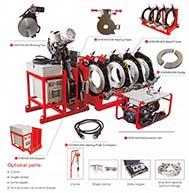 Mesin Penyambung Butt Fusion HDPE - SHD450 - SHD630 - Hidrolis