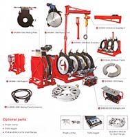 Mesin Penyambung Butt Fusion HDPE - SHD450 - SHD1200 - Hidrolis