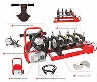 Mesin Penyambung Butt Fusion HDPE - SHDS 200 (4 Klem) - Manual